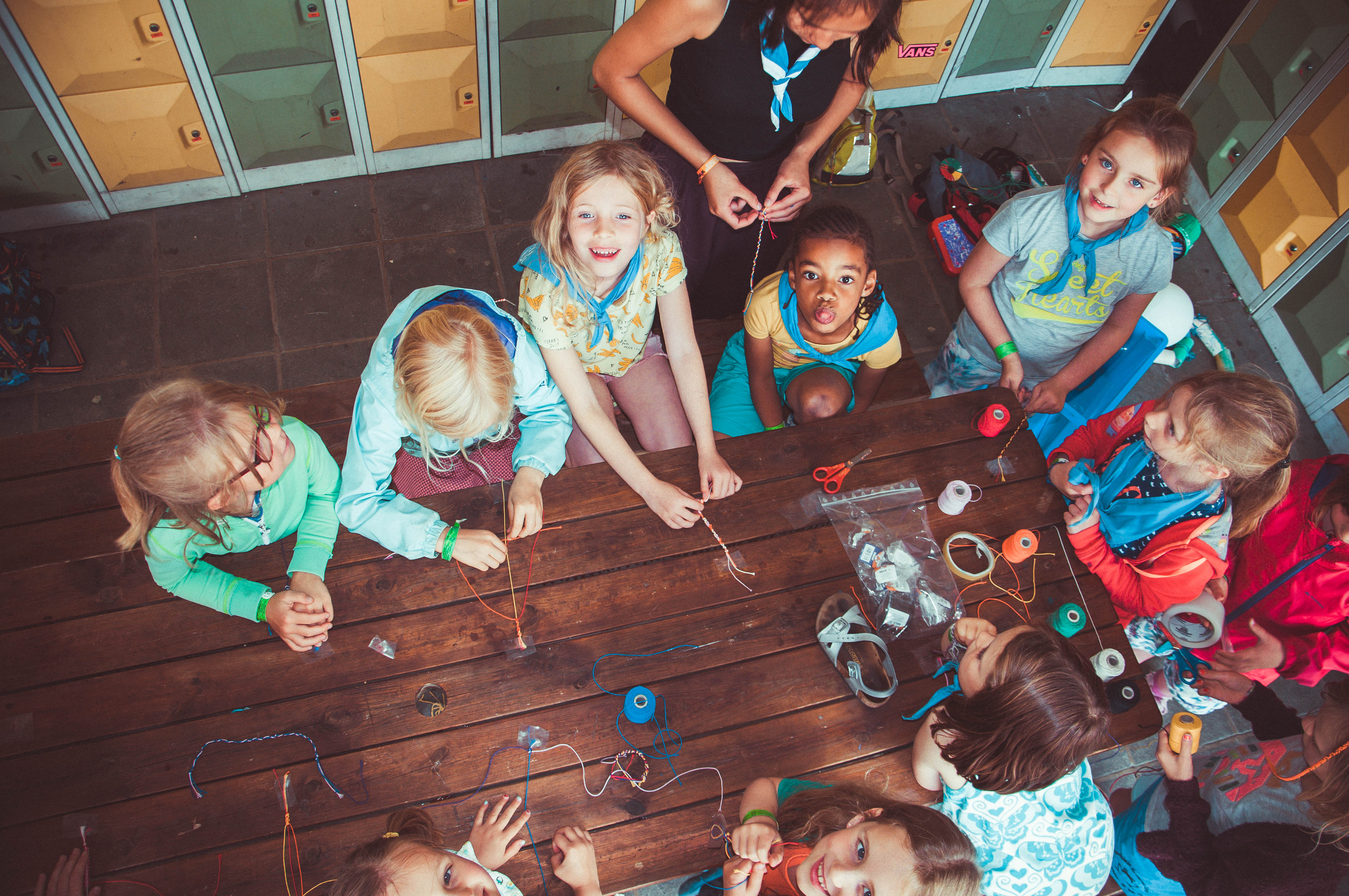 Kriebels leeftijdsgroep speelplein Groene Zone Leuven