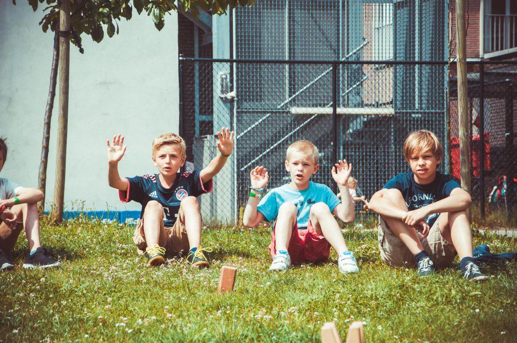 Eekhoorns leeftijdsgroep speelplein Groene Zone Leuven