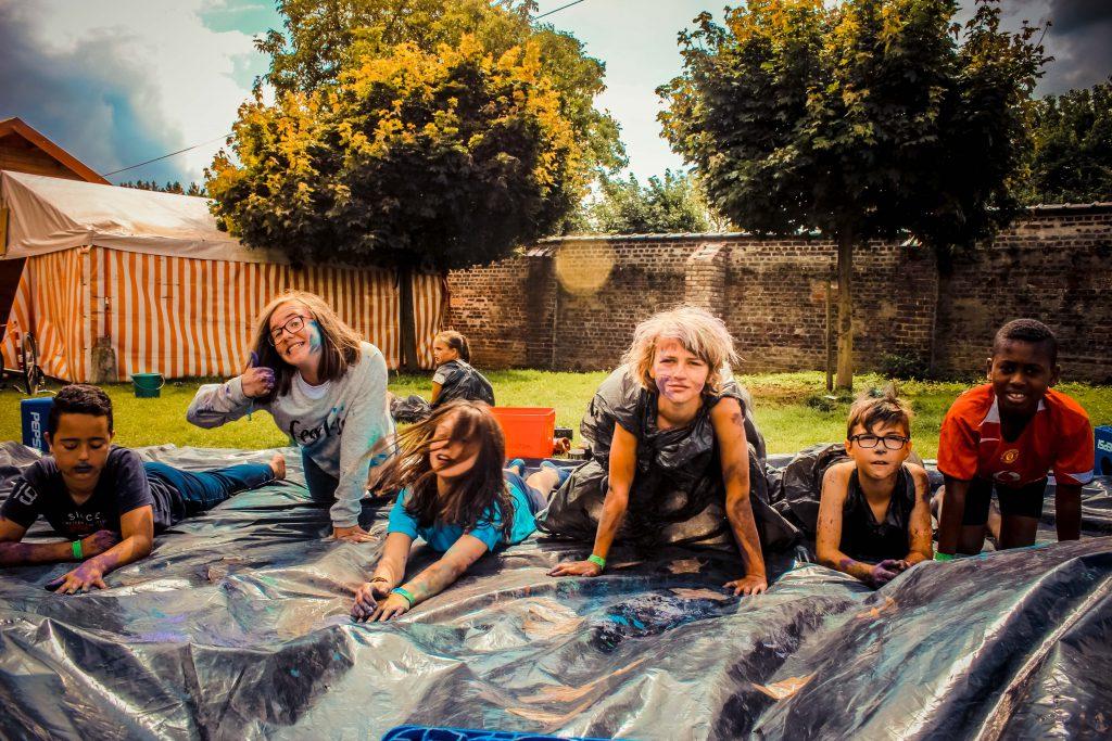 Rakkers & Knipogen leeftijdsgroep speelplein Groene Zone Leuven