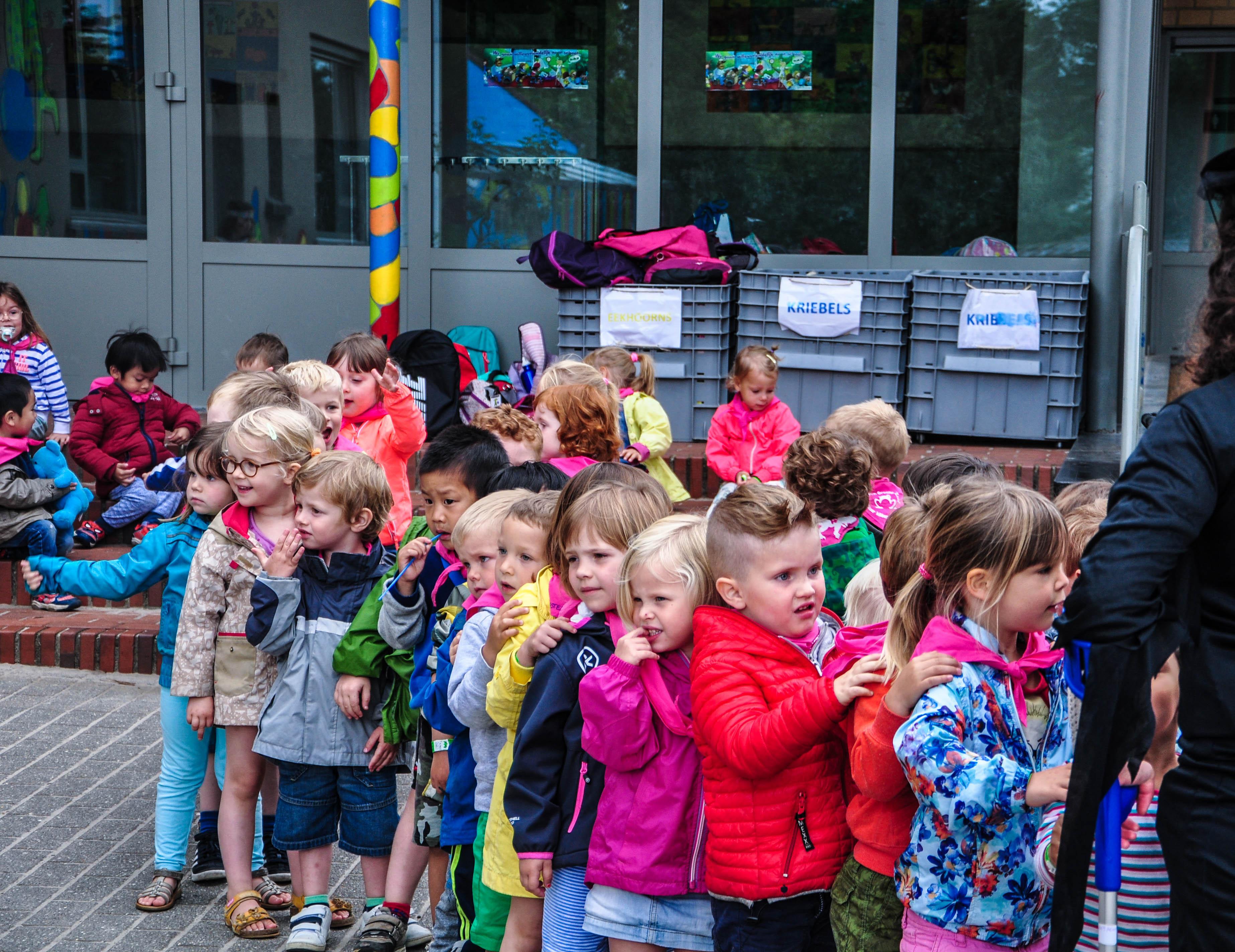 Biekes leeftijdsgroep speelplein Groene Zone Leuven