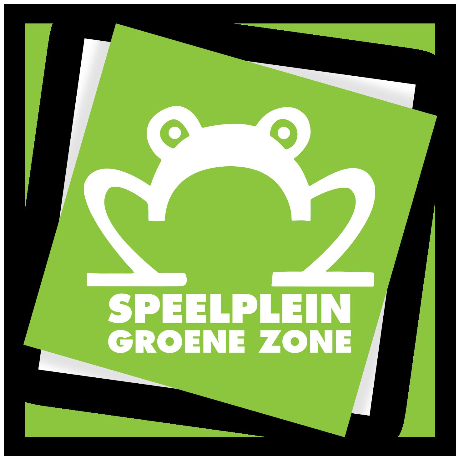 Logo speelplein Groene Zone aan de rand van Leuven in Heverlee